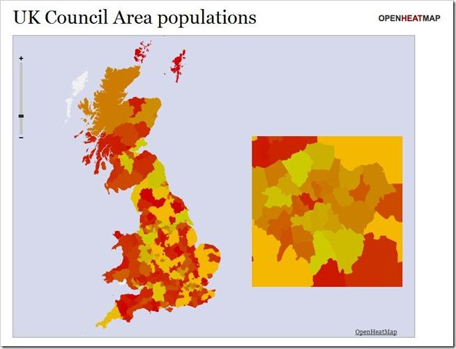 UK Council Populations