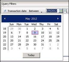 default date