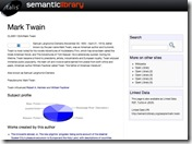 Semantic Library _ Mark Twain