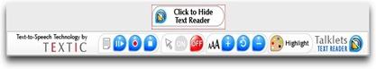 Textic_toolbar