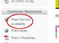 Service availability link