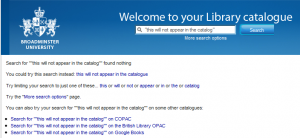 No results fragment linking to Copac, The British Library and Google Books