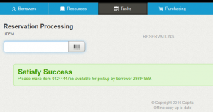 Process Reservations Input