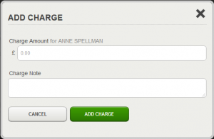 Borrower add misc charge form